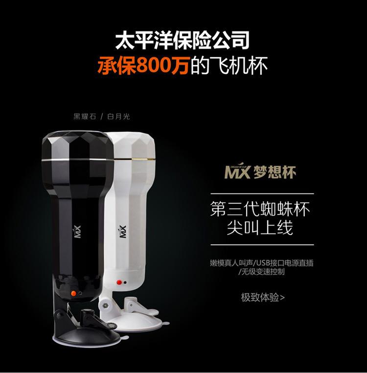 Dream Cup MX Flashlight Alat Bantu Sex 2