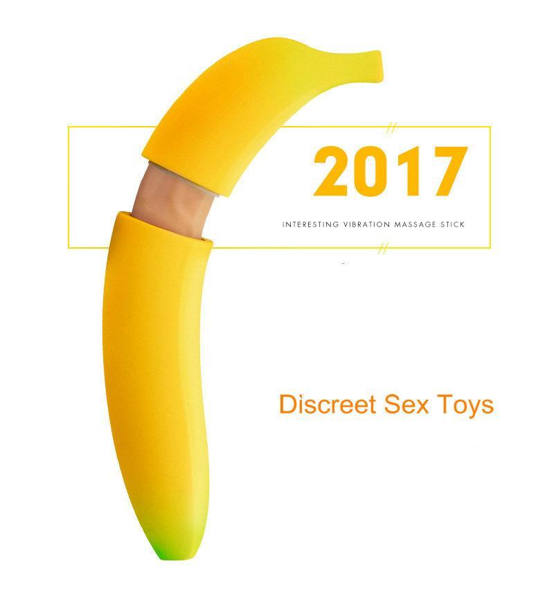 Sex Toys Wanita Dildo Hidden Banana Meylon 1