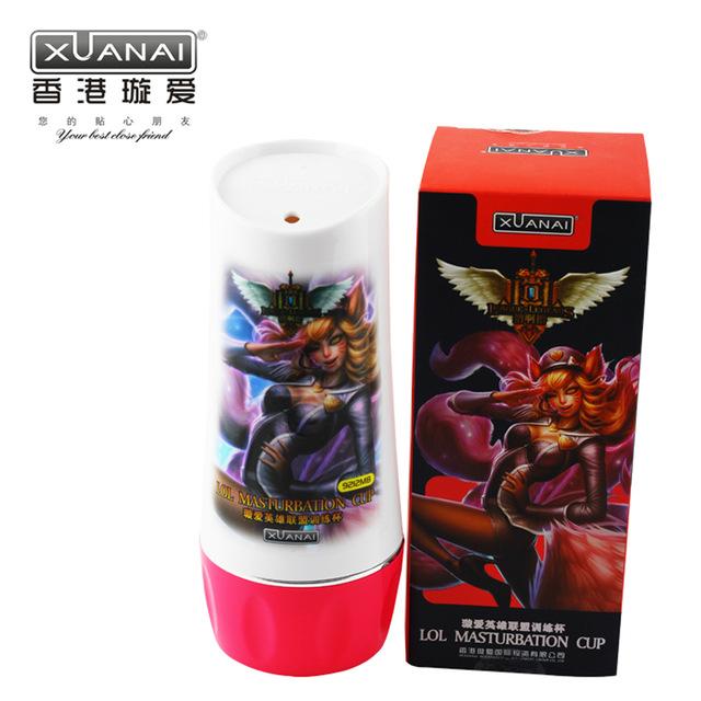 Sex Toys Pria Xuanai Lol MAsturbation Cup