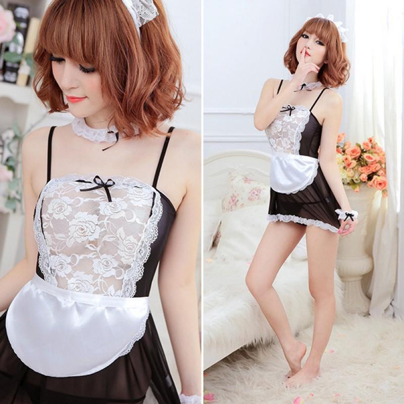Jual Sexy Lingerie Maid Servant