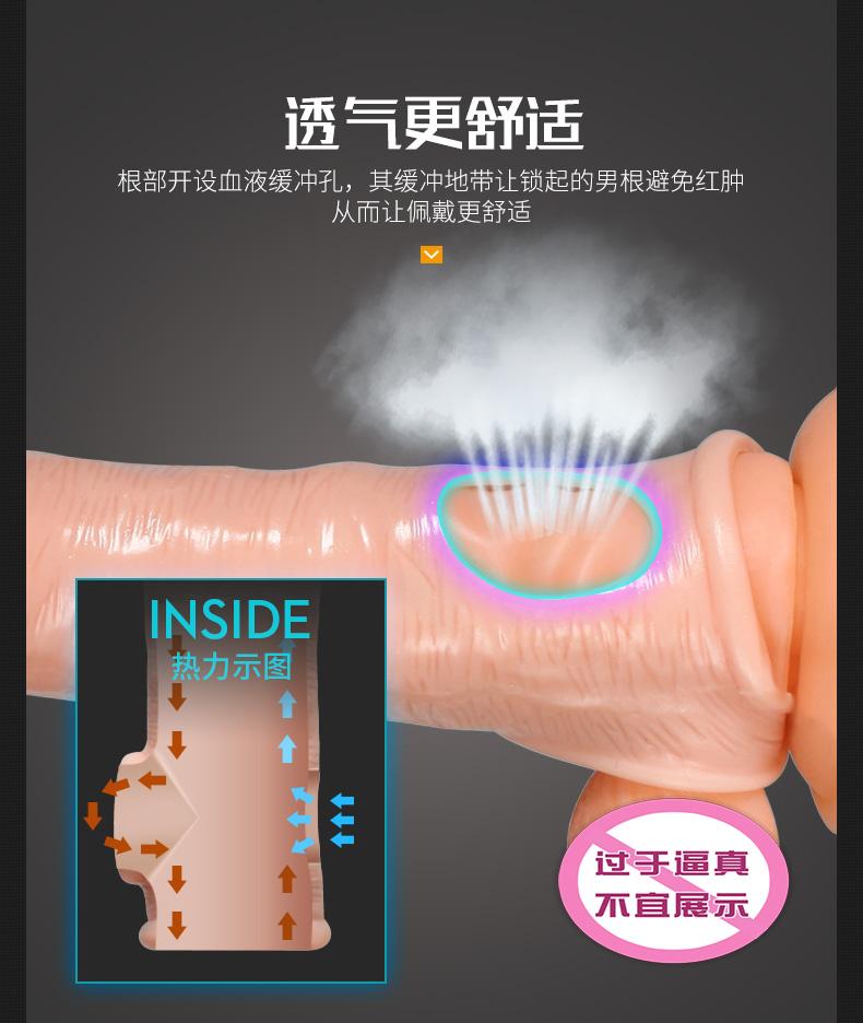 Kondom Sambung Please Me Silikon 7