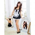 Sexy Costume Lingerie Maid Pelayan Cafe
