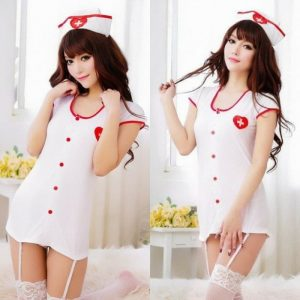 Toko Sexy Nurse Lingerie Cosplay
