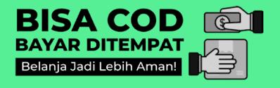COD, cod Seluruh Indonesia, bayar di tempat